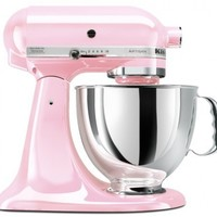 KitchenAid KSM150PSPK 5-Qt. Artisan Series with Pouring Shield - Pink