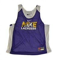 Nike Women's Reverible Tank - Purple/White | Lacrosse Unlimited