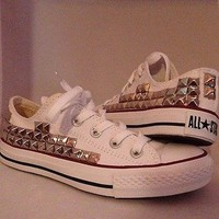 Shop-Savage — Low Top Studded Converse