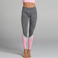 ACTIVEWEAR COLOR BLOCK MESH LEGGINGS