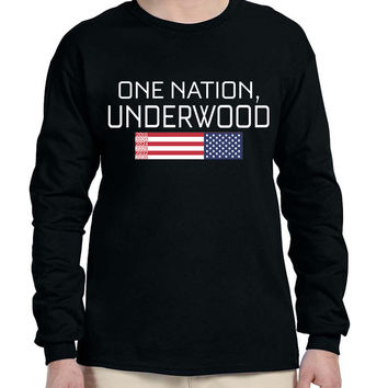 Men's Long Sleeve House Of Underwood One Nation Cool Tee
