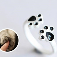 Stylish Jewelry Gift New Arrival Shiny Handcrafts Animal 925 Silver Lovely Ring [10467598292]