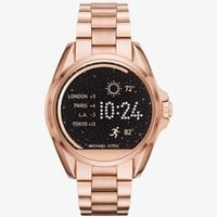 Michael Kors Access Bradshaw Rose Gold-Tone Smartwatch | Michael Kors