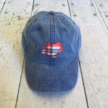 Madras Patch Shelly Logo Cap - Liberty Blue - Limited Edition