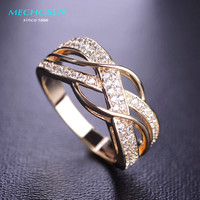 MECHOSEN Kawaii Pierced Classic Rings Bridal Wedding Rings Anel Loki Ring For Women Relogio Feminino Masculino The Ring O Vaz