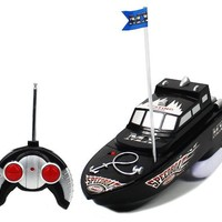 MX Championship Black Stealth Anchor Electric RTR RC Boat Full Function Good Quality Remote Control Boat