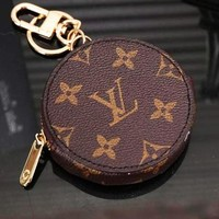 LV Louis Vuitton Fashion Trending Leather Key Pouch Car Key Wallet