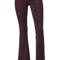 O'Neill Skye Knit Flare Pants - Womens Pants - Multi