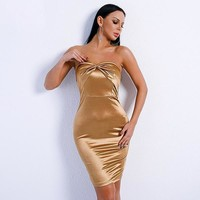 Laura Dress - Gold