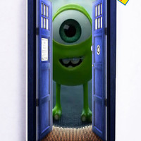 Tradis Doctor Who With Monster University for Iphone 5 / 5s Cover Rubber Case