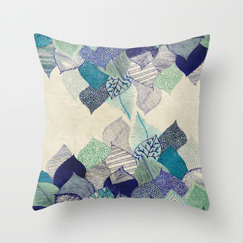 Leaf it to me Throw Pillow by Rskinner1122