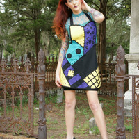 Nightmare before Christmas Sally inspired apron cosplay costume