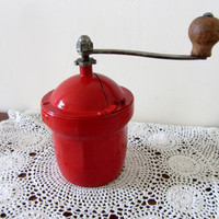 Rare Antique French Peugeot Freres GI Coffee Mill/Grinder