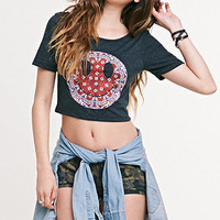 Nollie Smiley Face Cropped Tee at PacSun.com
