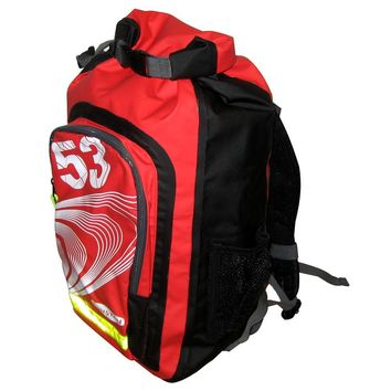 Ronstan 26L Roll-Top Dry BackPack - Black-Red [RF4006]