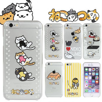 Neko Atsume Character Hard Case for iPhone 6s / 6
