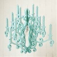 Twelve Timbers Nursery Chandelier (Multiple Finishes)