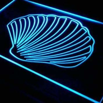 Sea Shell Beach Decor Neon Sign (LED)