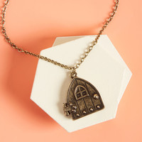 Knockin' the Knock Pendant Necklace