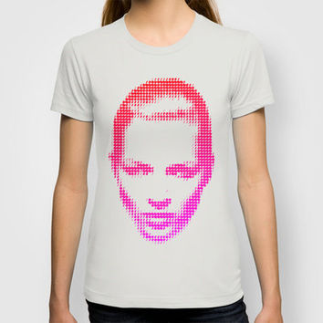 Kate Moss IV T-shirt by Three of the Possessed | Society6