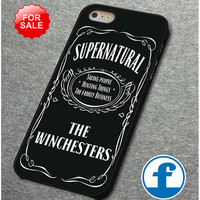 Supernatural the winchester for iphone, ipod, samsung galaxy, HTC and Nexus Phone Case