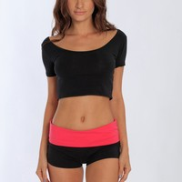 Miami Style® - Yoga Shorts Folding Waistband