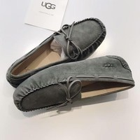 UGG 2018 winter new trend men's anti-fouling classic color peas shoes