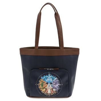 Disney Parks Mickey Mouse Compass Tote Walt Disney World New with Tags