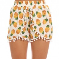 LISE PINEAPPLE SHORTS