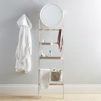 Wall Leaning Get-Ready Rack