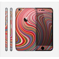 The Vibrant Colorful Swirls Skin for the Apple iPhone 6