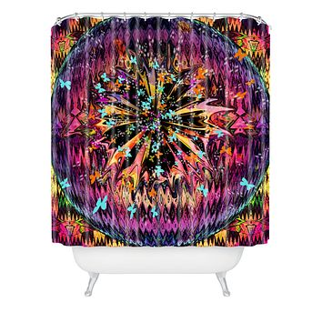 Ingrid Padilla Orbital Free Shower Curtain
