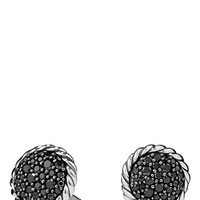 Women's David Yurman 'Chatelaine' Pave Earring with Black Diamonds