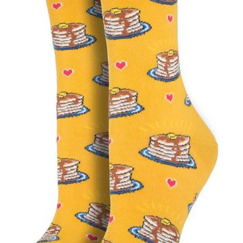 Pancake Women's Crew Socks
