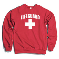 Lifeguard Crewneck Sweatshirt
