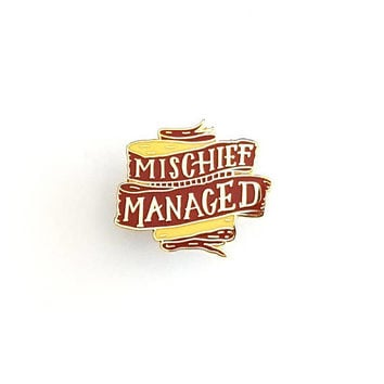 Mischief Managed - Harry Potter Enamel Pin