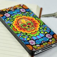 New Colorful Skull iPhone 4/4S Case