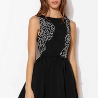 Keepsake Our Song Mini Dress- Black XS