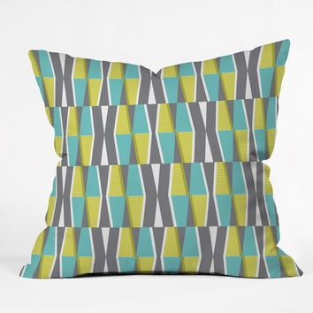 Heather Dutton Dayo Splash Throw Pillow