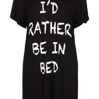 Rather Be In Bed PJ Tee - Sleepwear  - Clothing