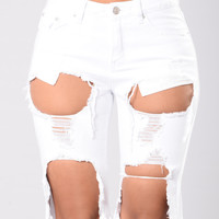 Millian Shorts - White
