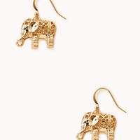 Globetrotter Elephant Earrings