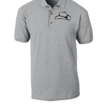 cowboy Embroidery - Polo Shirt