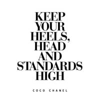 Digital Download Motivational Print Coco Chanel Quote Typography Poster Inspirational Quote Word Art Wall Decor Scandinavian Art Housewares