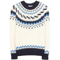 closed - knitted sweater