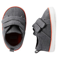 Carter's Denim Sneaker Crib Shoes