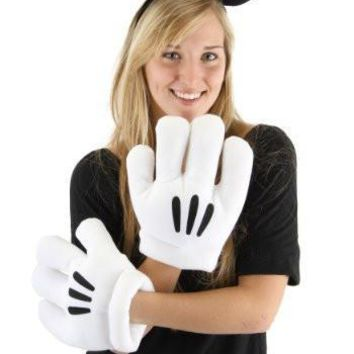 Disney Mickey Mouse Ear and Glove Adult Set
