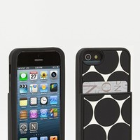 kate spade new york 'deborah dot' iPhone 5 case & card holder | Nordstrom