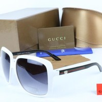 GUCCI Men Women Fashion Popular Summer Style Sun Shades Eyeglasses Glasses Sunglasses Tagre™