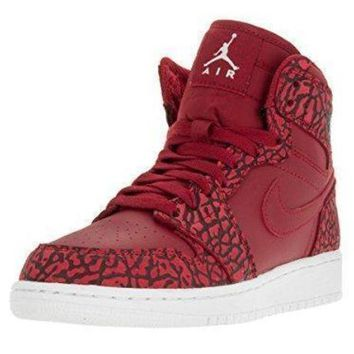 DCK7YE Nike Jordan Kids Air Jordan 1 Retro Hi Prem Bg Basketball Shoe nike air jordan